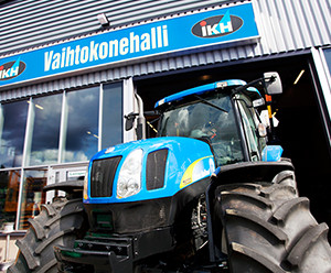 IKH forklifts and trade-in tractors